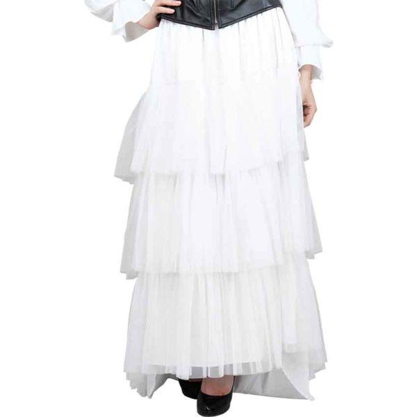 Layered Bustle Skirt