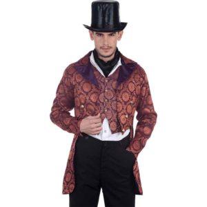Steampunk Opera Brocade Tailcoat