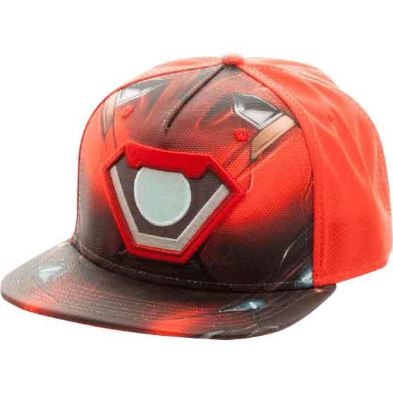 Civil War Iron Man Sublimated Snapback Hat