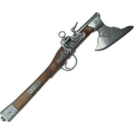 17th C. German Axe-Pistol