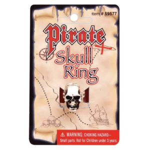 Pirate Skull Ring