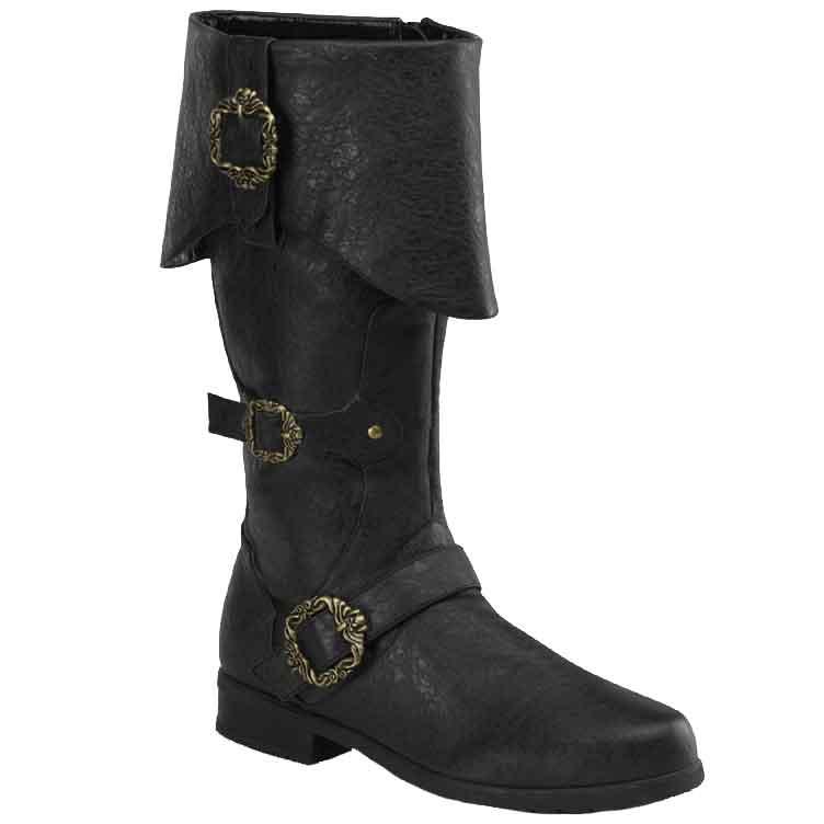 Men's Ornate Captain Boots - FW2075