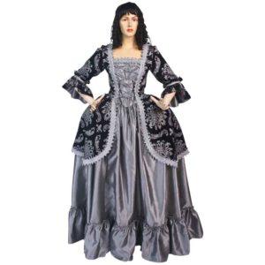 Baroque Queen Renaissance Dress