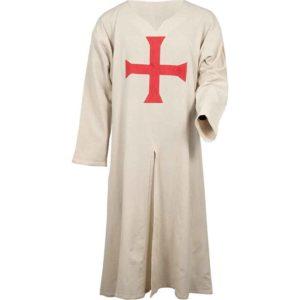 Natural Templar Knight Tunic
