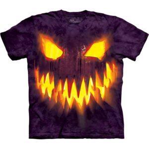 Kids Big Face Jack-o-Lantern T-Shirt