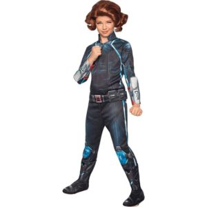 Girls Age of Ultron Deluxe Black Widow Costume