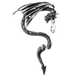 Crystal Dragon Single Ear Wrap