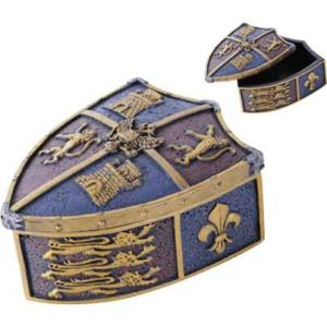 Medieval Shield Trinket Box