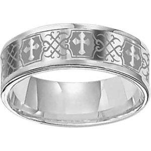 Medieval Kings Cross Ring