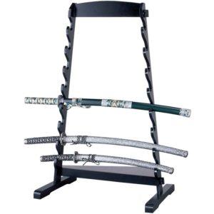 8 Tier Slanted Floor Sword Stand