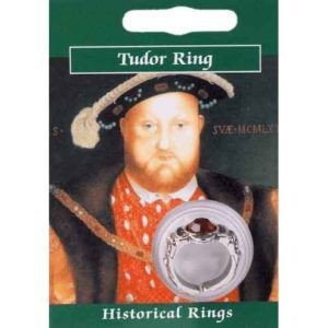 Pewter Henry VIII Gem Ring