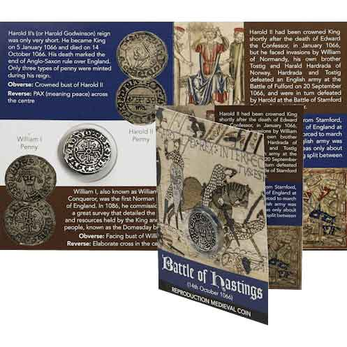 Battle of Hastings William I Coin Pack