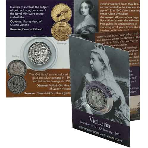 Queen Victoria Shilling Coin Pack