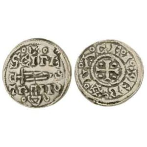 Vikings At York Silver Penny Replica Coins