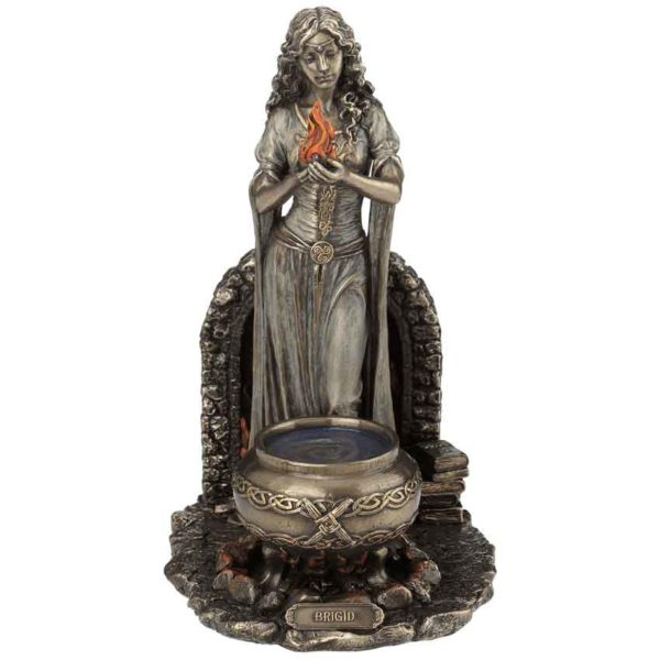 Brigid Goddess of Hearth and Home Statue