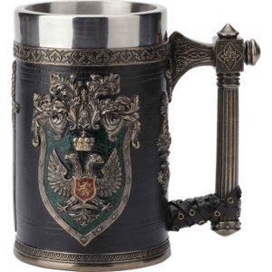 Double Eagle Crest Beer Stein
