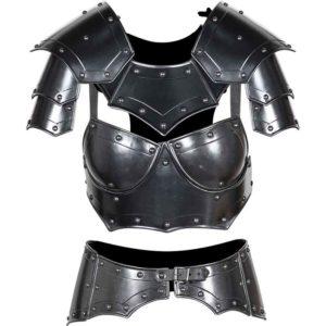 Blackened Mina Armour Set